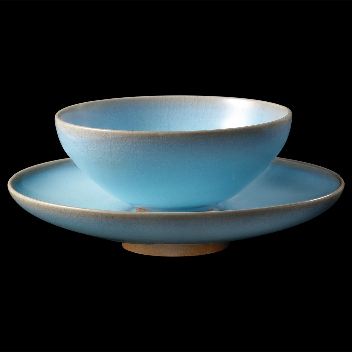 Jun Porcelain Azure Blue